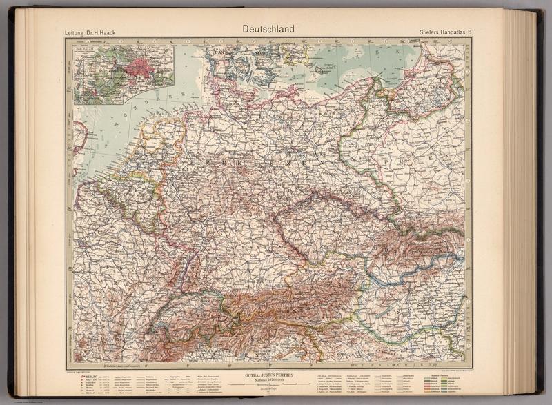 Stieler S Atlas Of Modern Geography 1925 Landkartenarchiv De